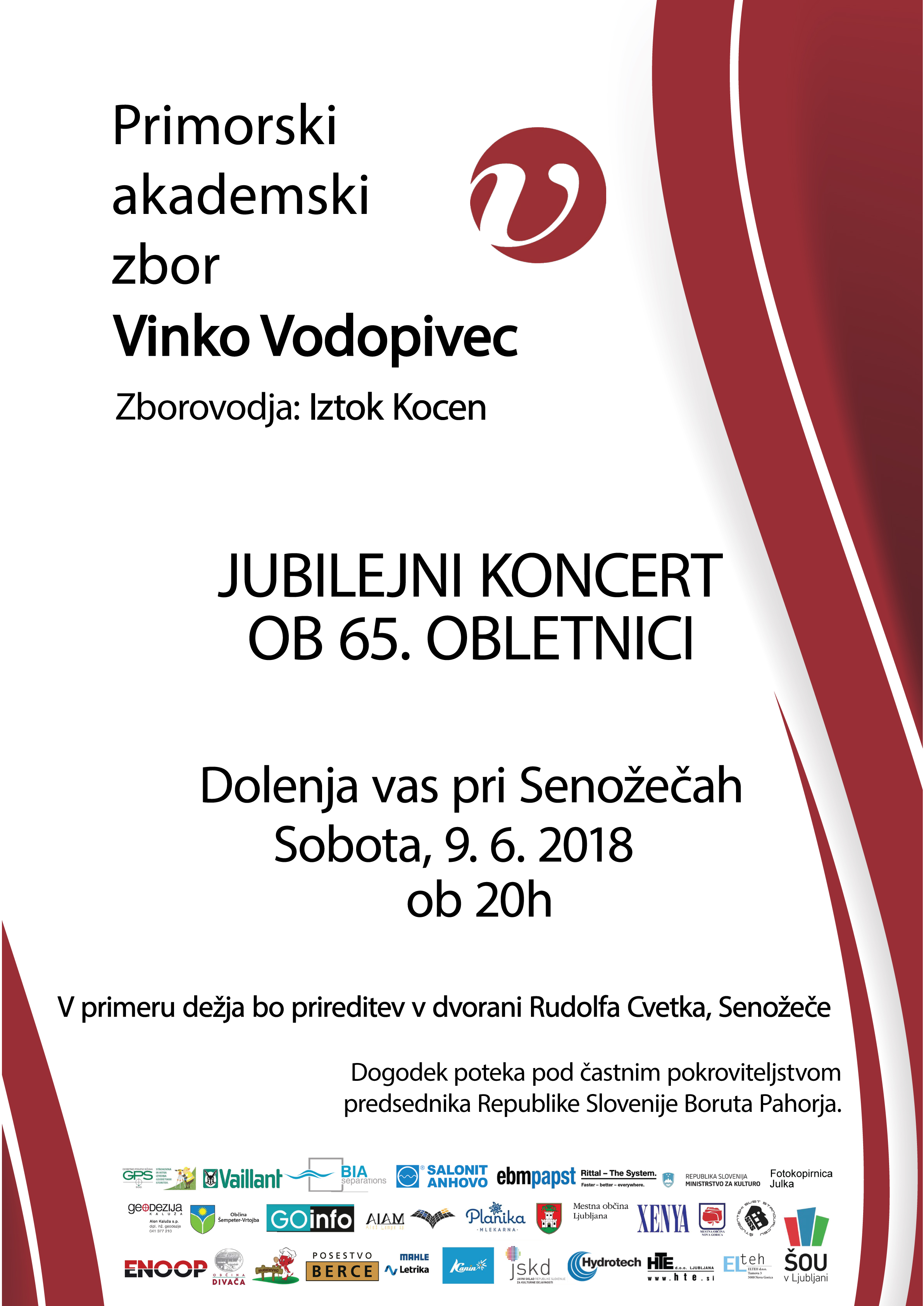 Jubilejni koncert @ Dolenja vas pri Senožečah